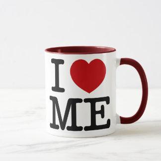 I Love Me Heart Me self esteem confidence dignity Mug