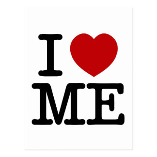 I Love Me Heart Me self esteem confidence dignity Postcard