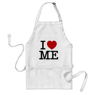 I Love Me Heart Me self esteem confidence dignity Standard Apron