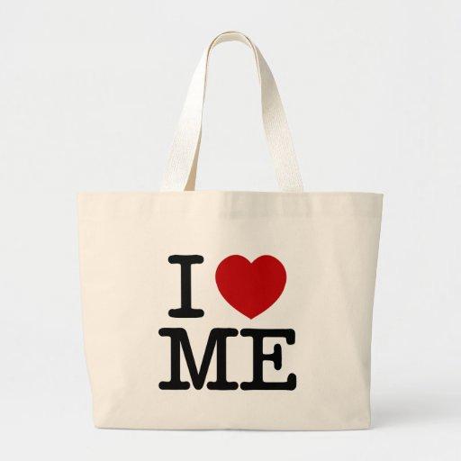 I Love Me Heart Me self esteem confidence dignity Jumbo Tote Bag