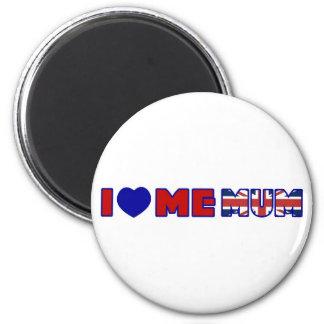 I Love Me Mum Refrigerator Magnet