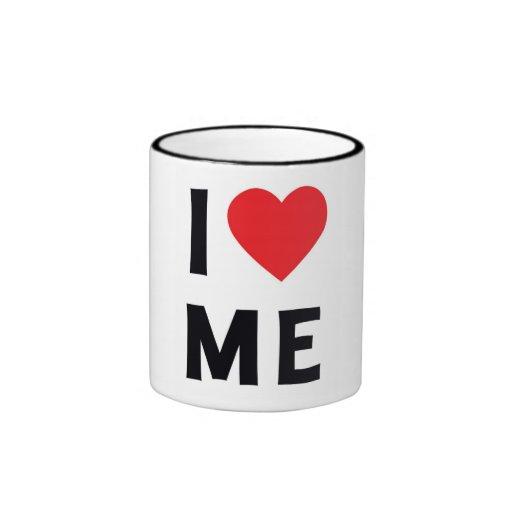 I Love ME Ringer Mug