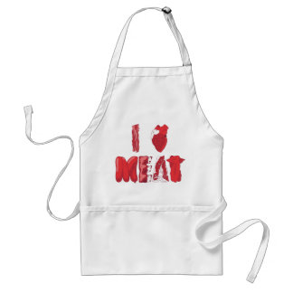 I Love Meat Apron