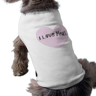 I Love Meat Doggy T-Shirt
