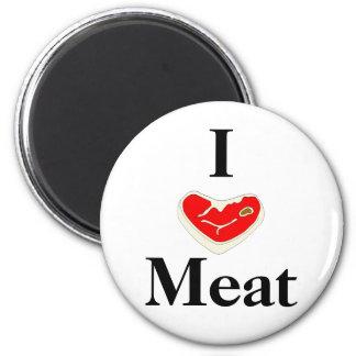 I Love Meat Magnet