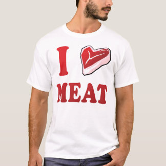 I Love Meat T-Shirt