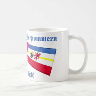 I Love Mecklenburg-Vorpommern ist mir lieb Mugs