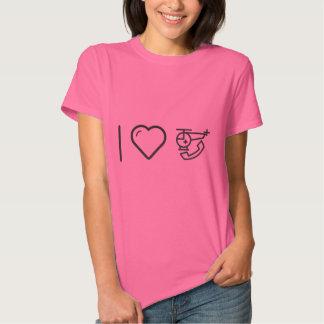 I Love Medical Assistance T Shirt