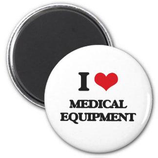 I Love Medical Equipment Refrigerator Magnets
