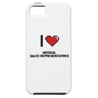 I love Medical Sales Representatives iPhone 5 Cases