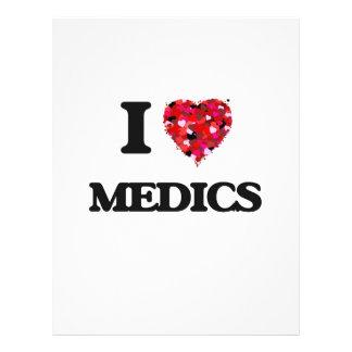 I Love Medics 21.5 Cm X 28 Cm Flyer
