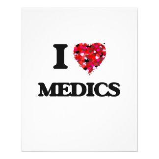 I Love Medics 11.5 Cm X 14 Cm Flyer