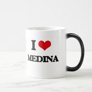 I Love Medina Magic Mug