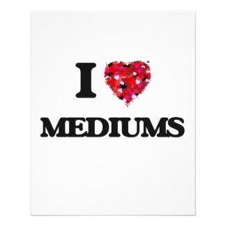 I Love Mediums 11.5 Cm X 14 Cm Flyer