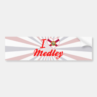 I Love Medley, Florida Bumper Sticker