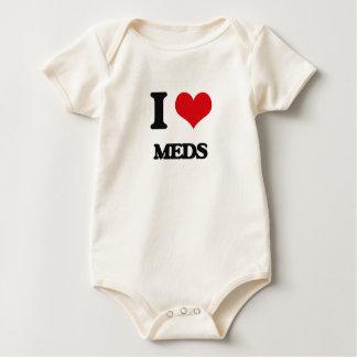 I Love Meds Romper