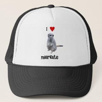 I Love Meerkats Trucker Hat