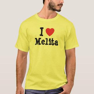 I love Melita heart T-Shirt