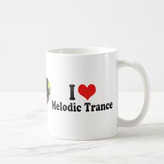 I Love Melodic Trance Coffee Mugs
