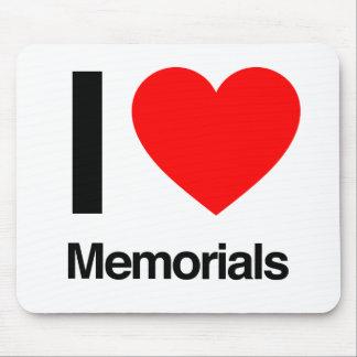 i love memorials mouse pad