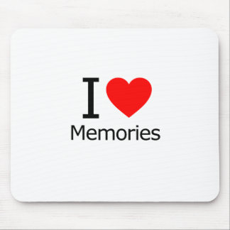 I Love Memories Mouse Pad