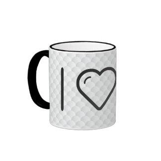 I Love Memory Card Ringer Mug