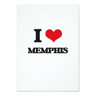 I love Memphis Invitation