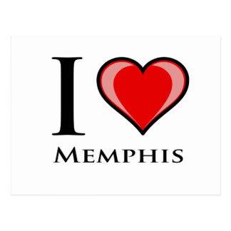 I Love Memphis Post Card