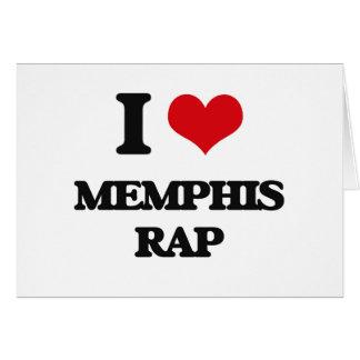 I Love MEMPHIS RAP Cards