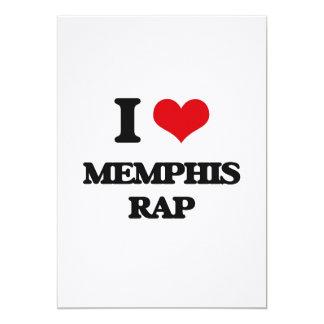 I Love MEMPHIS RAP Personalized Invite