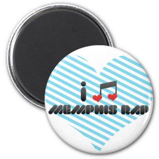 I Love Memphis Rap Magnet