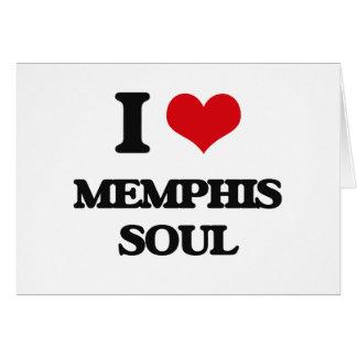 I Love MEMPHIS SOUL Card