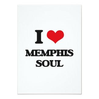 I Love MEMPHIS SOUL Customized Announcement Card