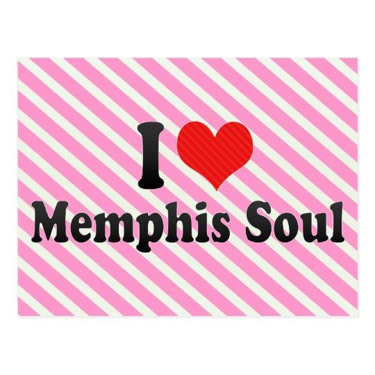 I Love Memphis Soul Postcard