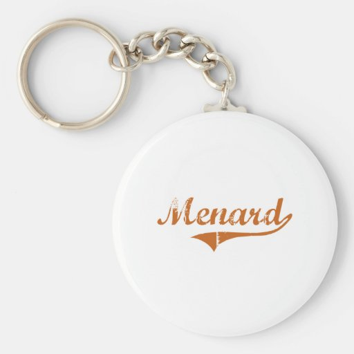 I Love Menard Texas Key Chain