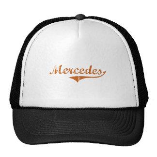 I Love Mercedes Texas Mesh Hats