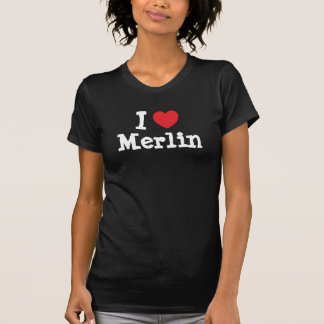 I love Merlin heart custom personalized T Shirt