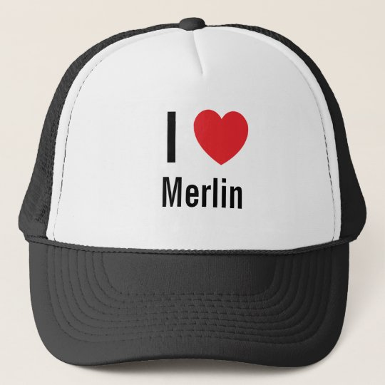 I love Merlin Trucker Hat