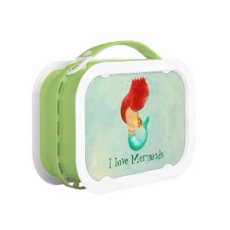 I love Mermaids Lunch Box