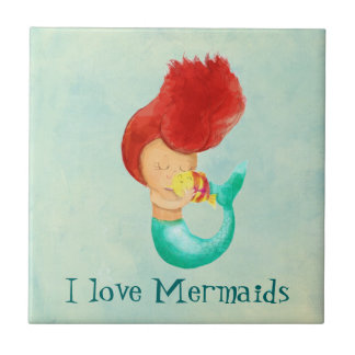 I love Mermaids Tile