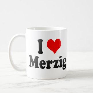 I Love Merzig, Germany. Ich Liebe Merzig, Germany Basic White Mug