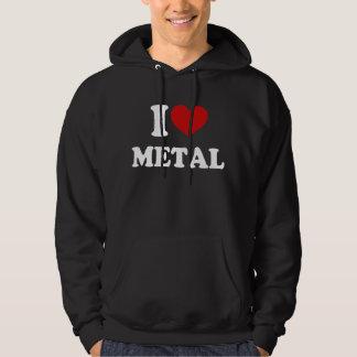 I Love Metal Hoodie
