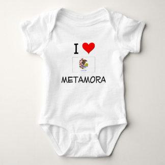 I Love METAMORA Illinois Infant Creeper