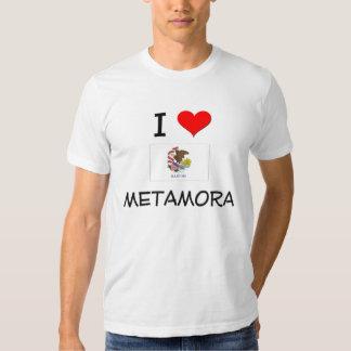 I Love METAMORA Illinois Shirts