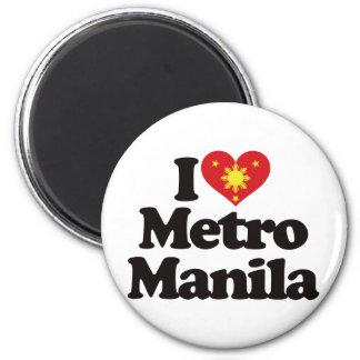 I Love Metro Manila 6 Cm Round Magnet