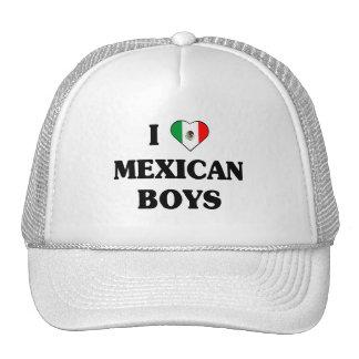I love Mexican Boys Cap