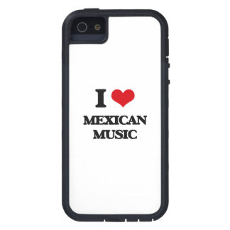 I Love MEXICAN MUSIC iPhone 5 Cover