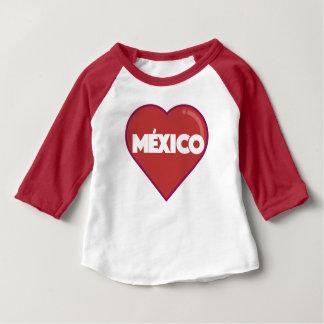 I LOVE MEXICO BABY T-Shirt