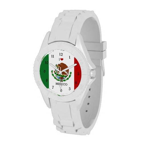 I Love Mexico Watch