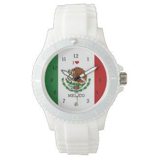 I Love Mexico Wrist Watch
